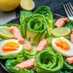 Keto Räucherlachs Salat