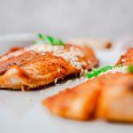 Ingwer-Limetten Lachs vom Grill