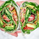 Ranch Salat-Wrap