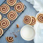 Zimt Pinwheel Kekse