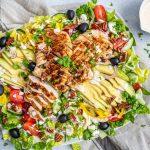 Cajun Hähnchen Salat